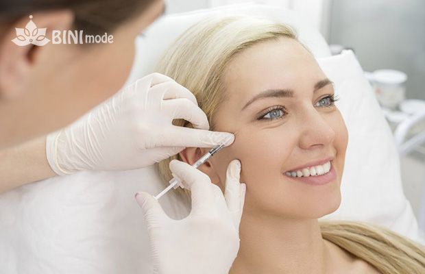 تزریق ژل اطراف چشم